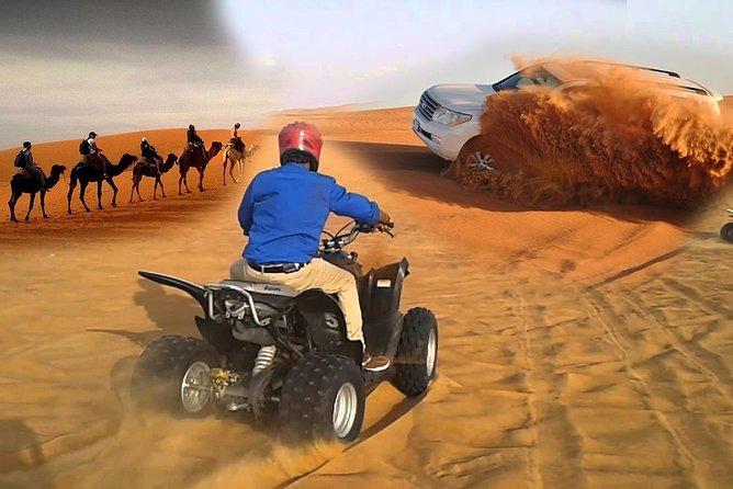 Morning Dune drive Camel Ride Sand Ski Quid Bike