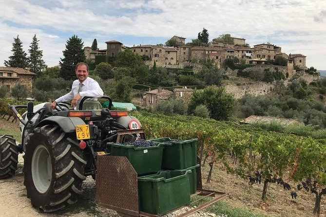 TRANSFER TOUR Lucca to Florence with a wine-tasting tour in CHIANTI