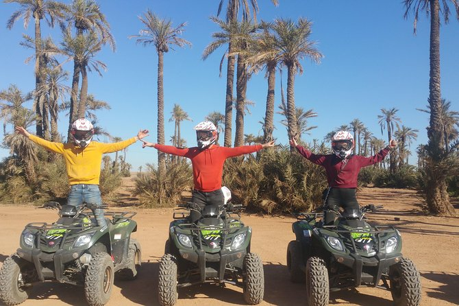 Quad and camel ride Half day in Marrakech