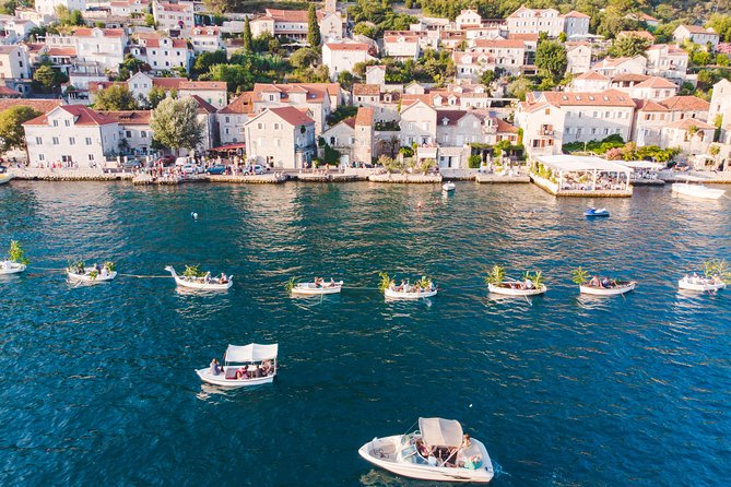 Up to 25 Passengers Group - Private Speedboat Tour: Boka Bay & Blue Cave