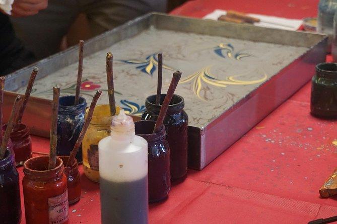 Art of Turkish 'Ebru' Marbling Workshop in Istanbul