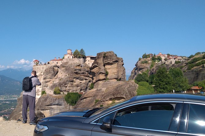 Meteora Monasteries Fully Private Day Tour with Great Lunch Included from Athens