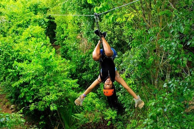 Extreme experience from Cancun (Atv Shared, Zip line and Cenote)