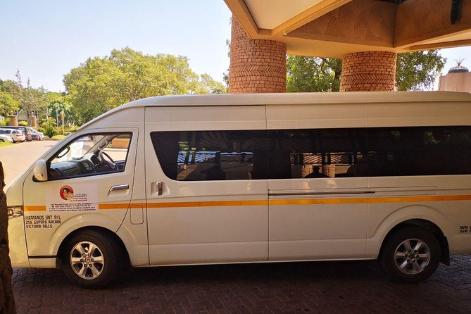 Transfers between Victoria Falls Airport and Victoria Falls Hotels