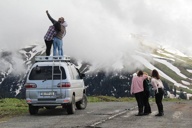 One day tour from Kutaisi to Bakhmaro