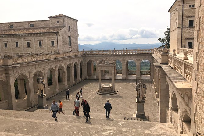 Montecassino Abbey, Gaeta and Terracina Private Day Tour from Rome with Lunch