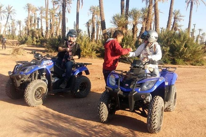 2 hours quad biking in the palm grove of Marrakech