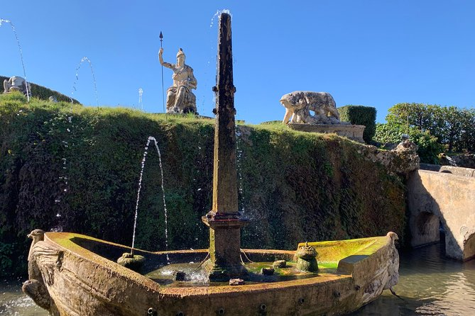 Villa D'Este (Tivoli) and Roman Basilicas Private Tour
