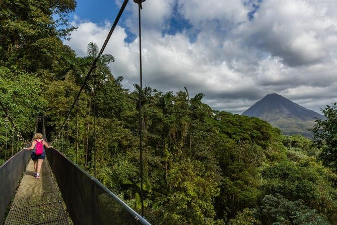 Arenal Hanging Bridges with Professional Guide