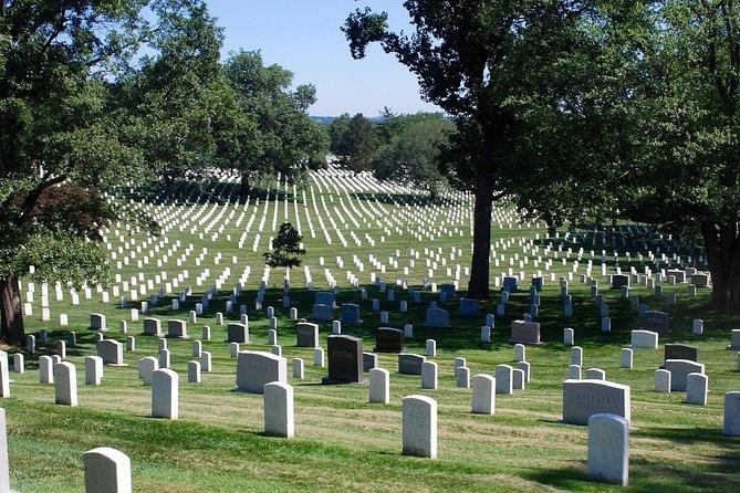 Arlington Cemetery Including Monument Tour w/Washington Monument Admission