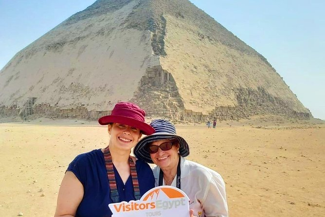 Pyramids, Sakkara and Dahshur Private Day Tour