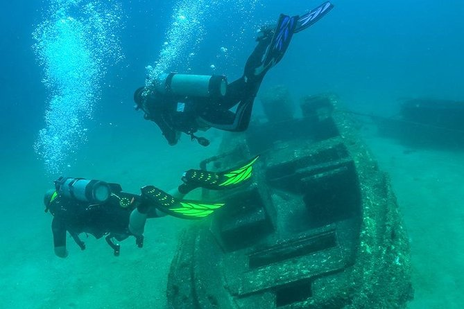 Diving in Shipwreck Princess