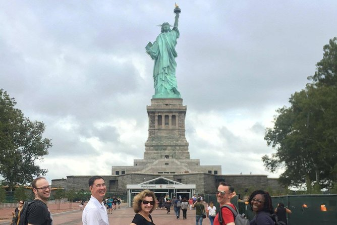 Small-Group Downtown, 911 Memorial Tour with Statue of Liberty Pedestal Access