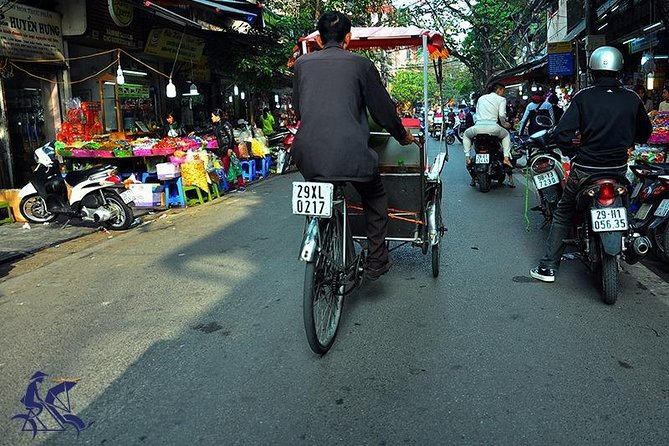 Private tour - Hanoi old quarter cyclo tour (2 hours)