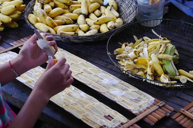 Full day tour :bamboo train ,killing cave&bat cave,village life&test local snack