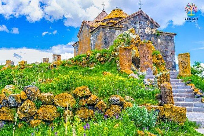 Private tour: Lake Sevan, Sevanavank, Noratus cemetery, Hayravank monastery