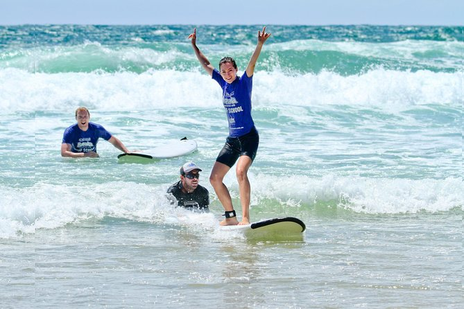 2-Hours Coolum Beach Beginner Surf Lesson with Instructor