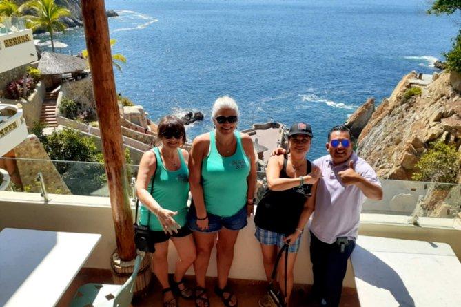 Acapulco CityFun Tastic 6HRS+Cliff Divers Show+Lunch Terrace Beach Restaurant