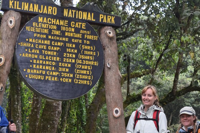 Kilimanjaro Climbing 7 Days and 6 Nights Machame