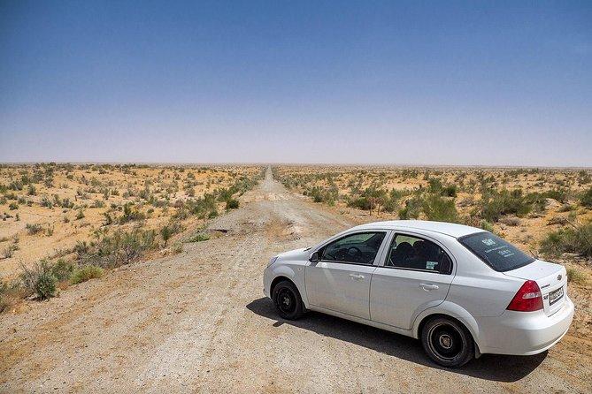 Khiva - Urgench - Nukus Transfer (199 km)