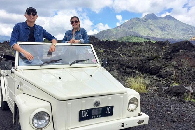 Full-Day Tour to Exploring Kintamani Volcano with VW Safari Classic Car