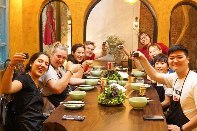 Vietnamese Cooking Class in Indochine Villa with Market Tour