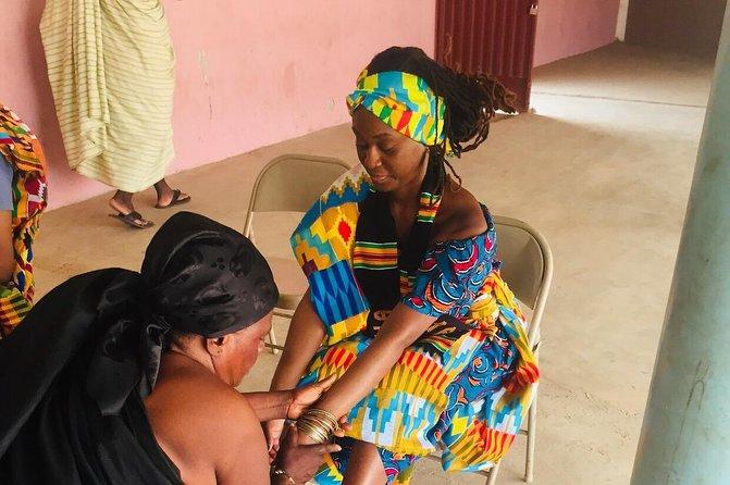 Traditional naming ceremony For African Diaspora in Kumasi