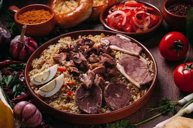 Uzbek Cooking Master Class at Local House: Tashkent Plov with Horse Sausage photo 3