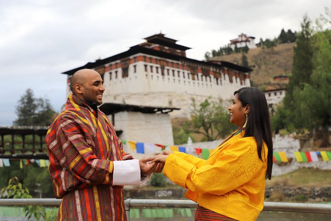 Professional photoshoot at Paro, Bhutan