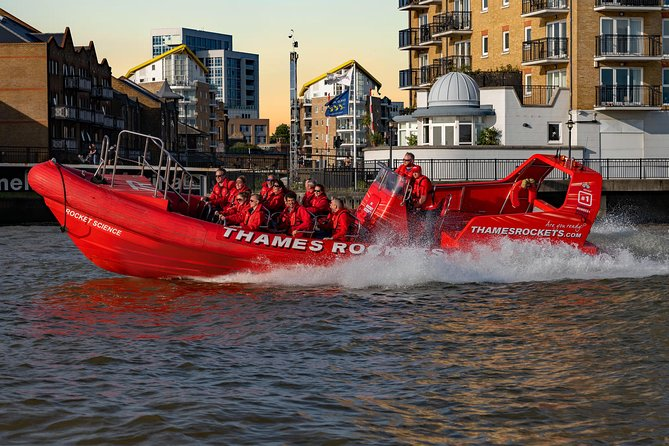 Thames Rockets Sunset London Speedboat Experience