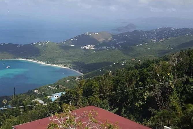 Budget St. Thomas Island Tour with Mountain Top and Magens Bay Beach
