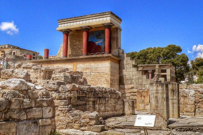 Half Day Private Tour to Knossos Palace( Skip the line ) & Panoramic City Tour