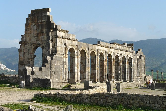 PRIVATE 1 Day Trip To VOLUBILIS, MEKNES, MOULAY IDRIS From FES