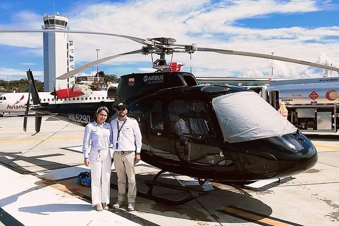 Transfer to Barichara - Private helicopter fligth