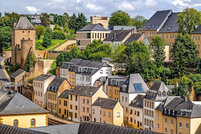 Luxembourg walking city tour
