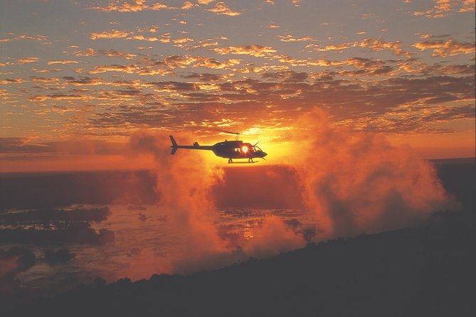 15-Minute Helicopter Flight Over The Victoria Falls
