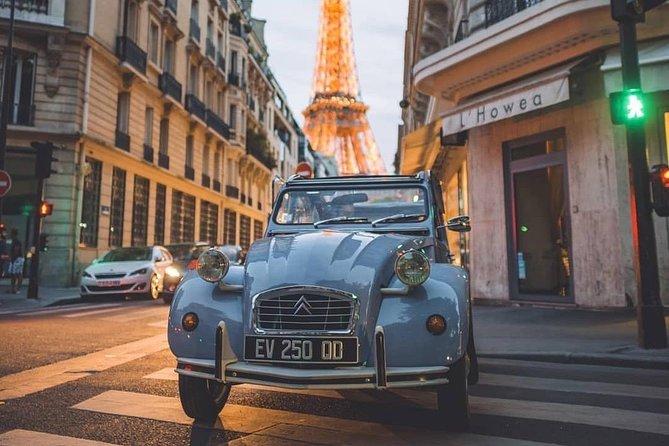 Tour in 2CV Paris 1h