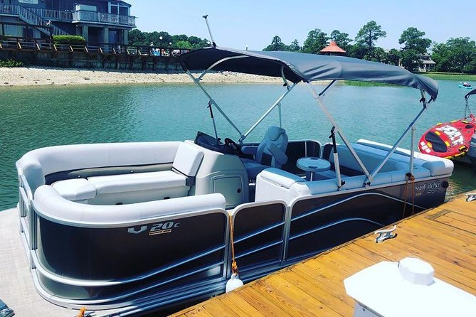 6-Hour Private Hilton Head Pontoon Boat Rental