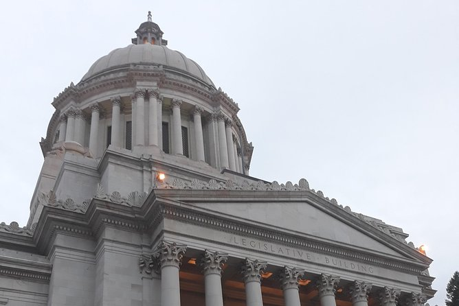 A Fun Day in Olympia: Rotunda tour, Schmidt Mansion, Tumwater Falls