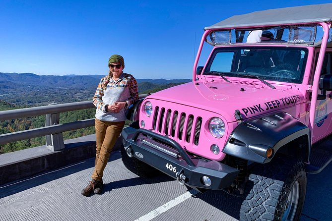 Valleys and Views Smoky Mountains Tour by Open-Air Jeep