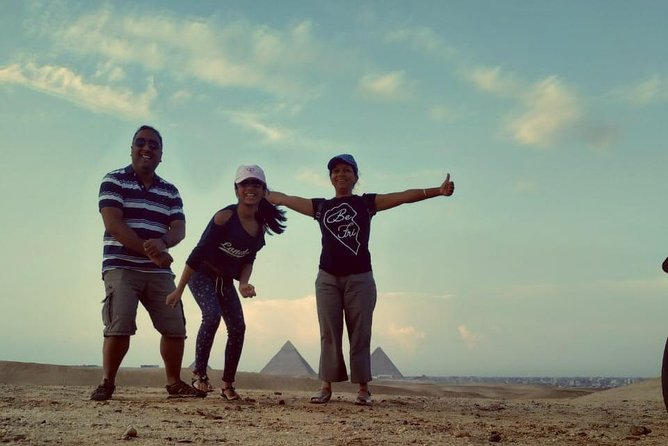 Full-Day Giza Pyramids Private Tour with Guide