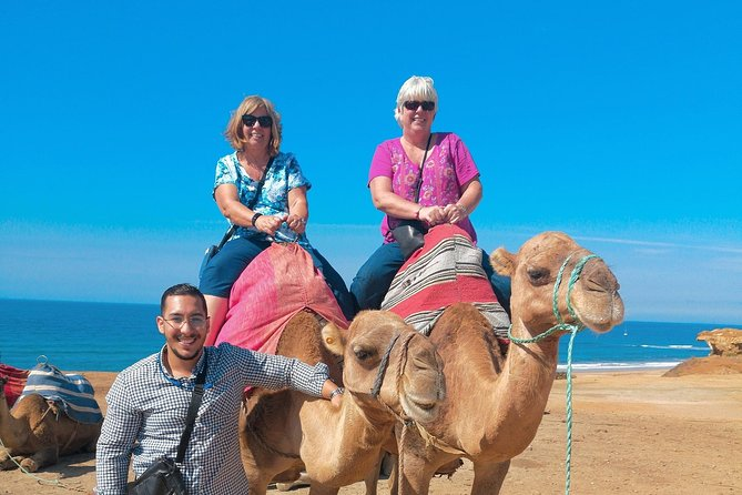 Camel Ride on Tangier Beach