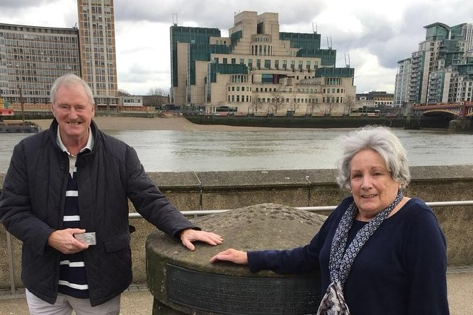 Bond with 007 in London - A spy mysteries tour 'Licensed to Thrill'
