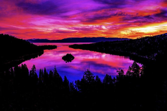 An incredible Sunrise at Emerald Bay