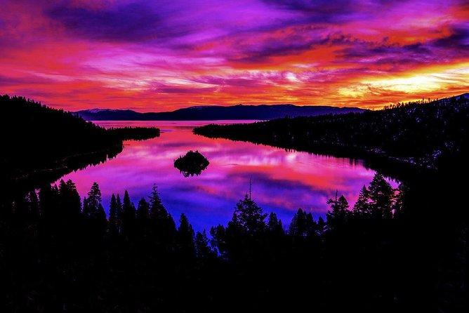 An incredible Sunrise at Emerald Bay