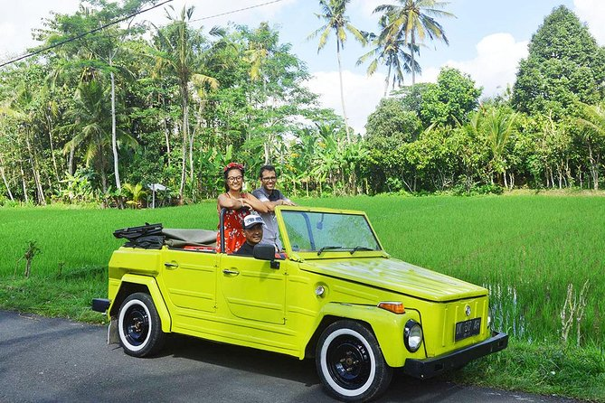 Full-Day Ubud Private Tour by VW Safari Classic Car with Lunch