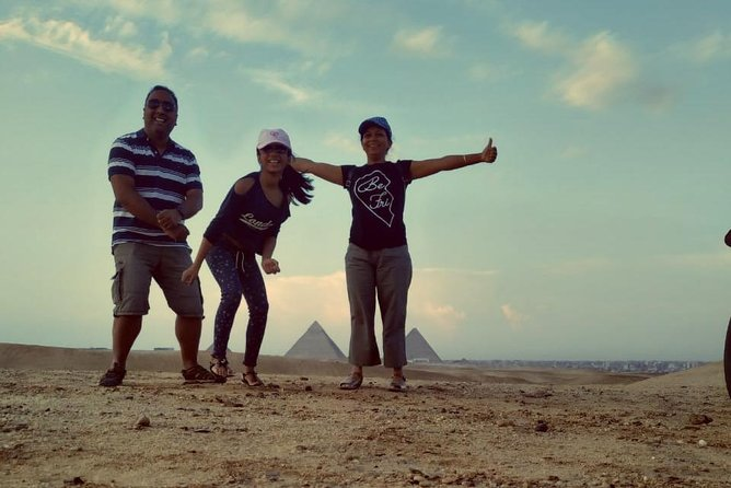 Quad Bike Ride at The Pyramids Of Giza