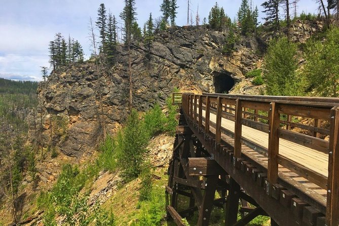 Bicyle Tour on Historical Kettle Valley Railway from Myra Canyon to Penticton