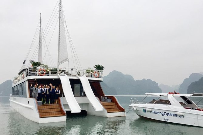 Full Day, All-Inclusive Cruise: Halong Bay, Lan Ha Bay and Bai Tu Long Bay