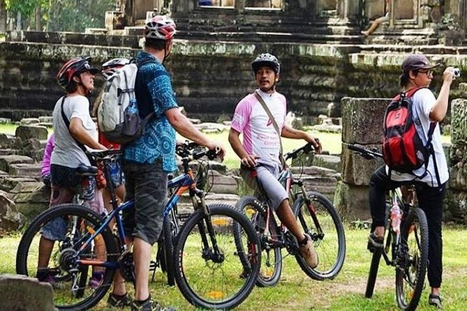 Angkor Temple Bike Tour from Siem Reap - Included Lunch & pickup/drop-off